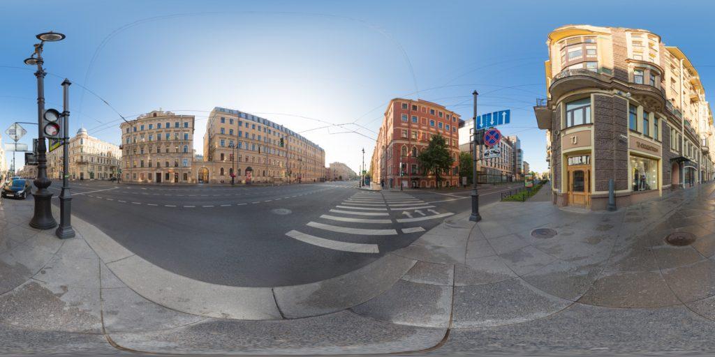 3д Панорама на Невском Проспекте